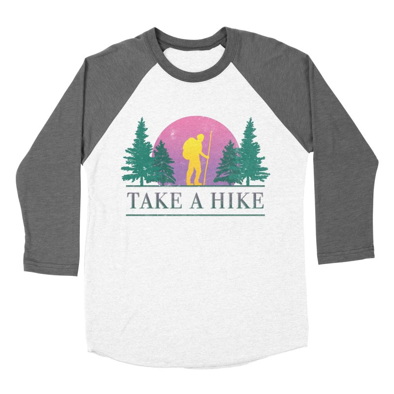 Take a Hike Women's Baseball Triblend T-Shirt by csw
