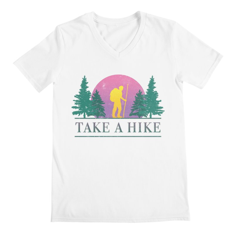Take a Hike Men's V-Neck by Cody Weiler