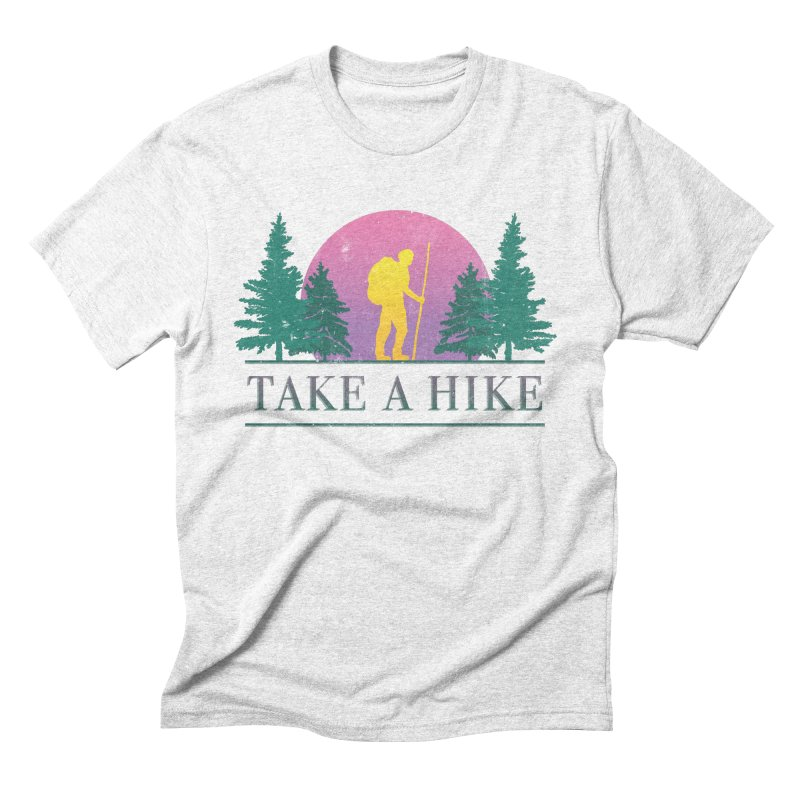 Take a Hike Men's Triblend T-shirt by csw