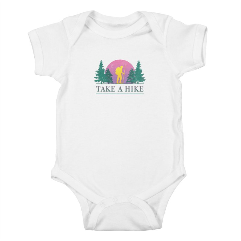 Take a Hike Kids Baby Bodysuit by csw