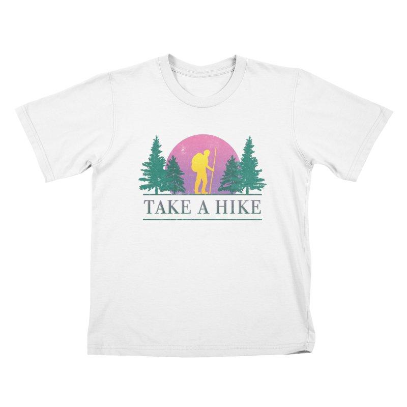 Take a Hike Kids T-Shirt by Cody Weiler