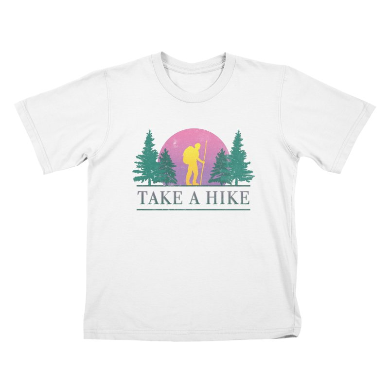 Take a Hike Kids T-shirt by csw
