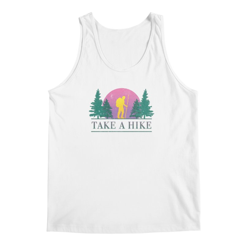 Take a Hike Men's Tank by Cody Weiler