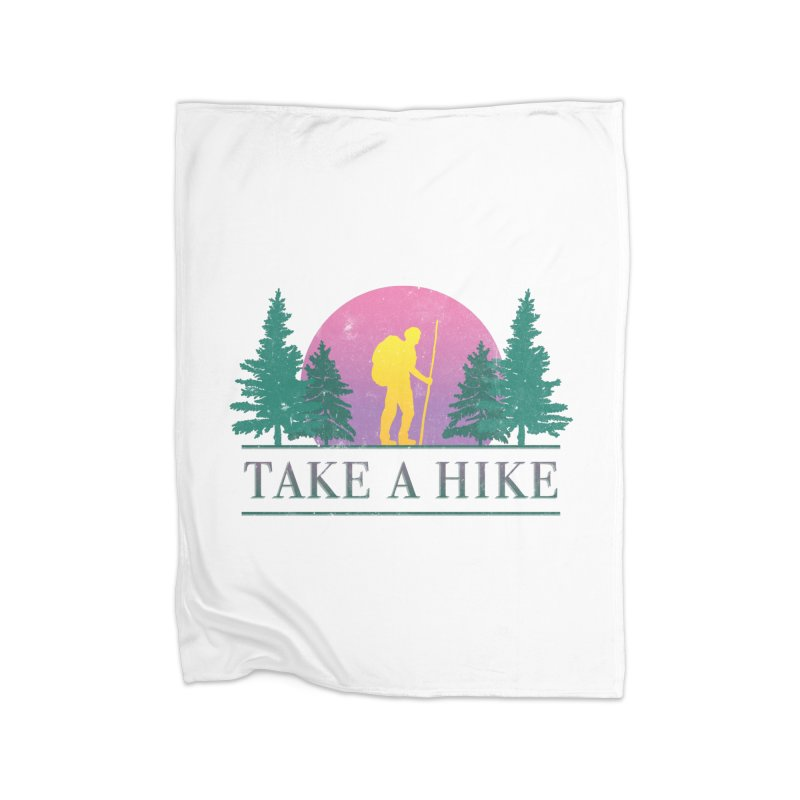 Take a Hike Home Blanket by csw