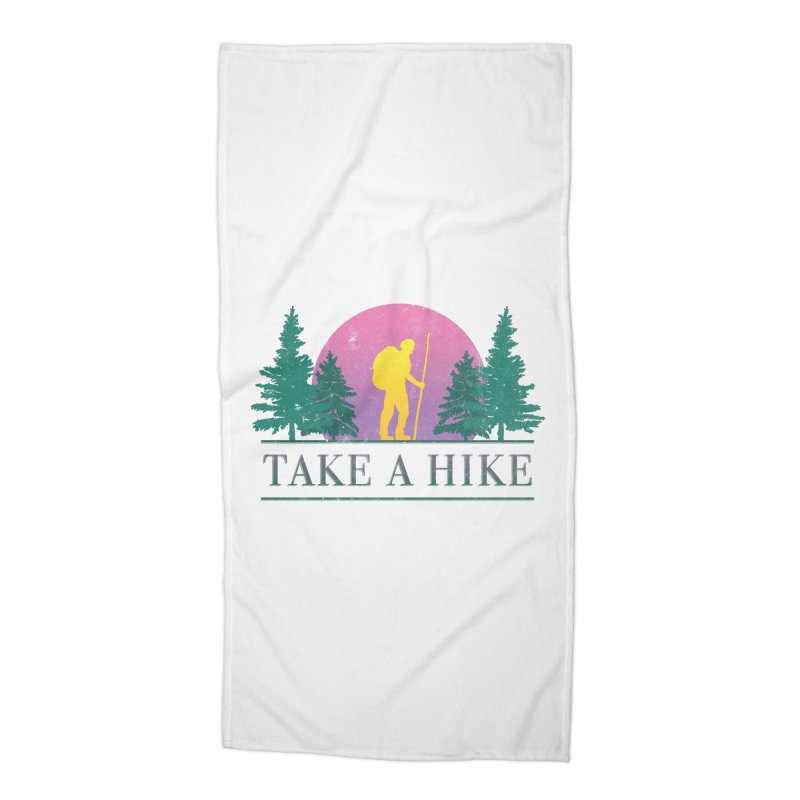 Take a Hike Accessories Beach Towel by csw