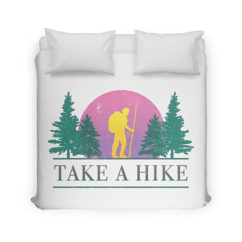 Take a Hike Home Duvet by csw