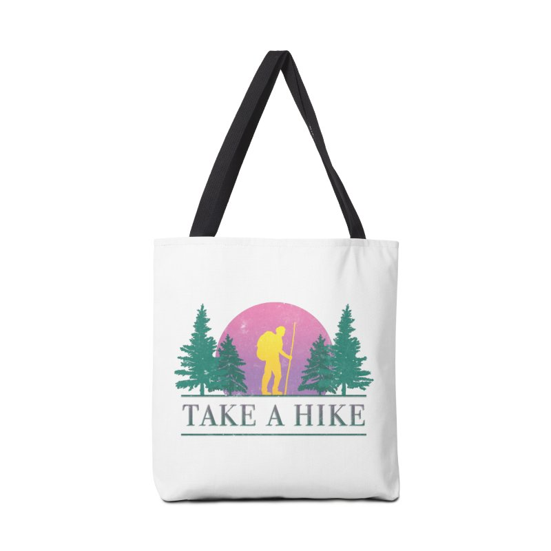 Take a Hike Accessories Bag by csw