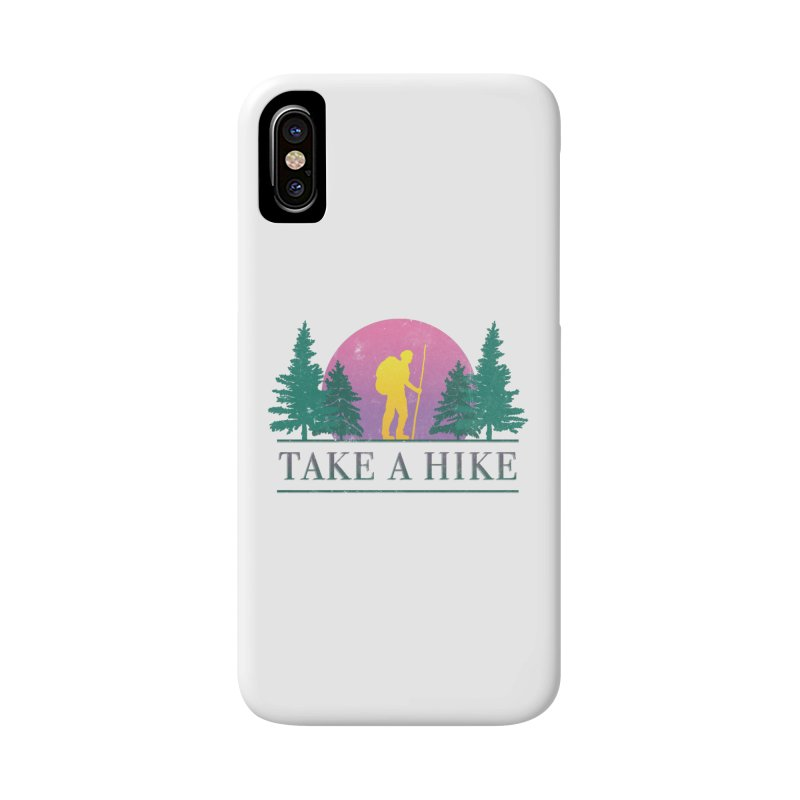 Take a Hike Accessories Phone Case by csw