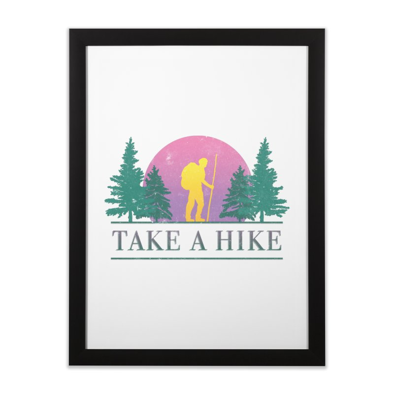 Take a Hike Home Framed Fine Art Print by csw