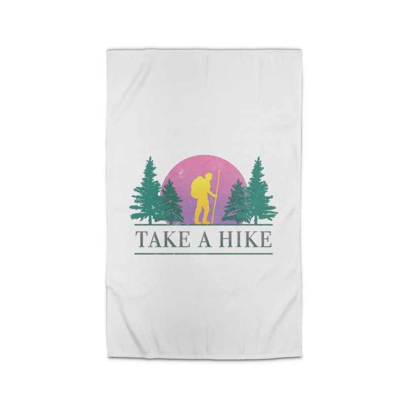 Take a Hike Home Rug by csw