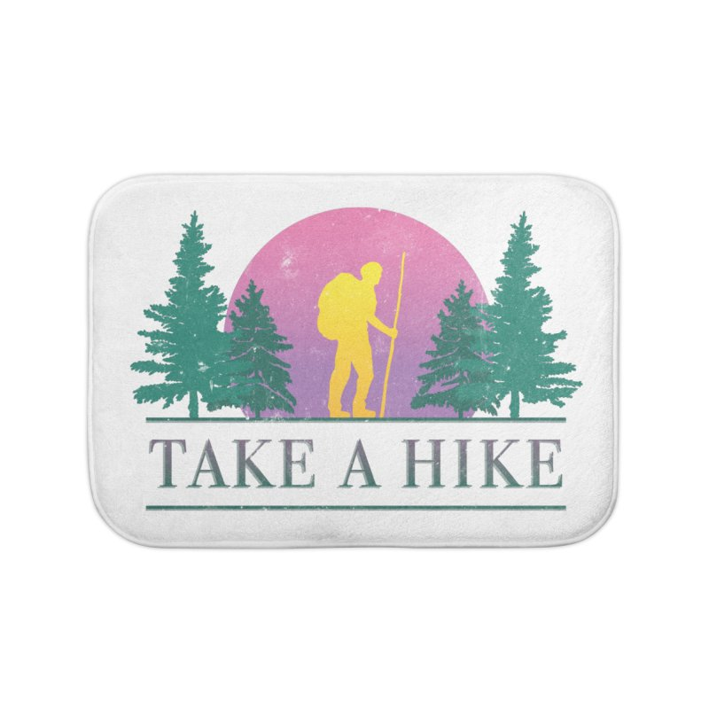 Take a Hike Home Bath Mat by csw