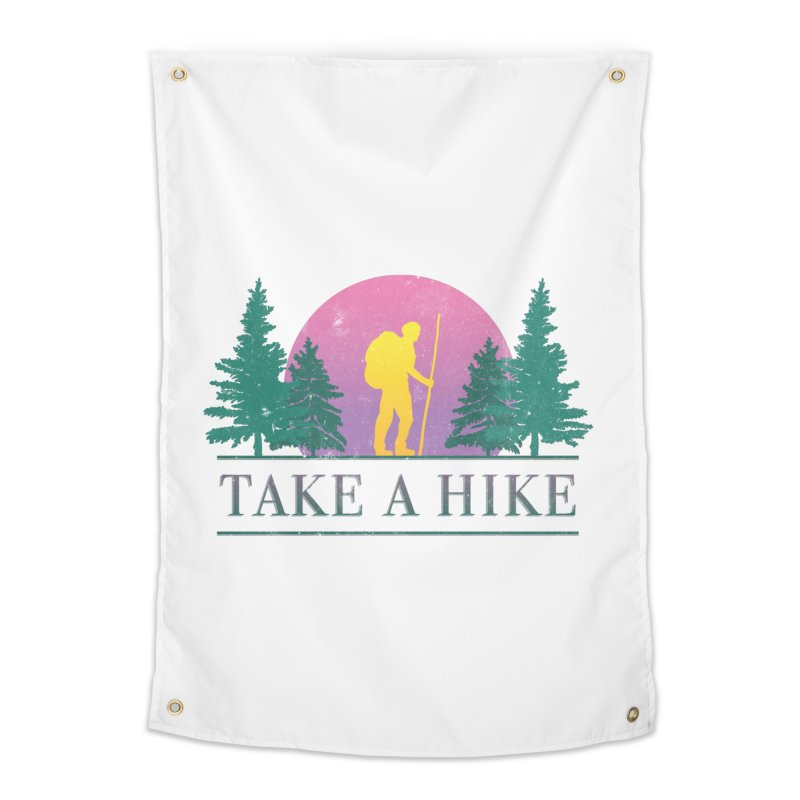 Take a Hike Home Tapestry by csw