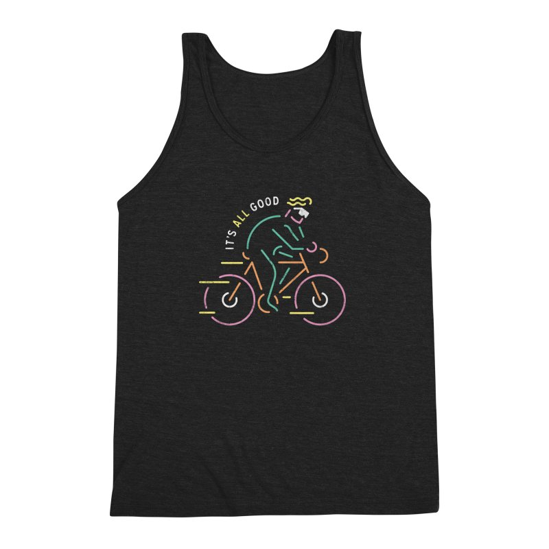 It's All Good Men's Triblend Tank by csw