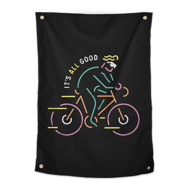 It's All Good Home Tapestry by csw
