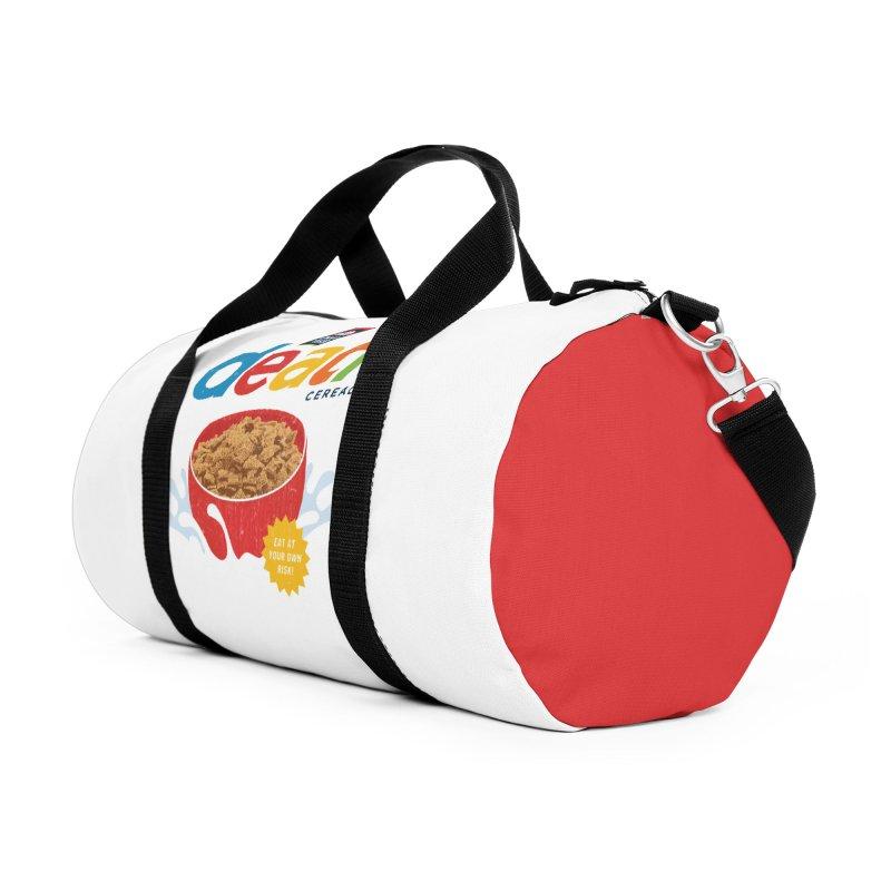 Death Accessories Duffel Bag Bag by Cody Weiler