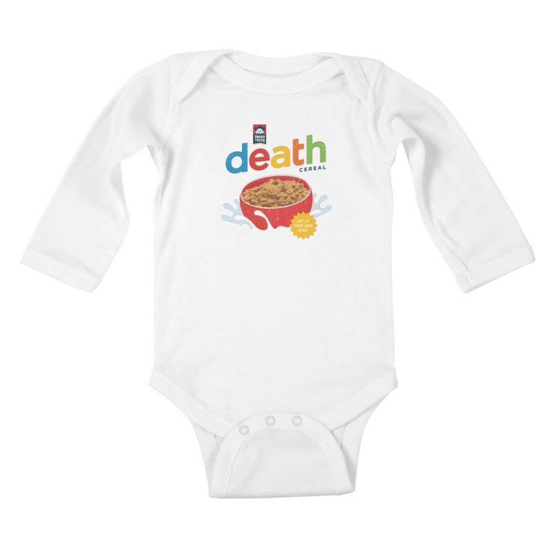 Death Kids Baby Longsleeve Bodysuit by csw