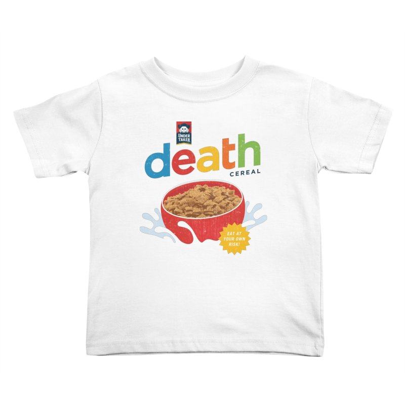Death Kids Toddler T-Shirt by csw