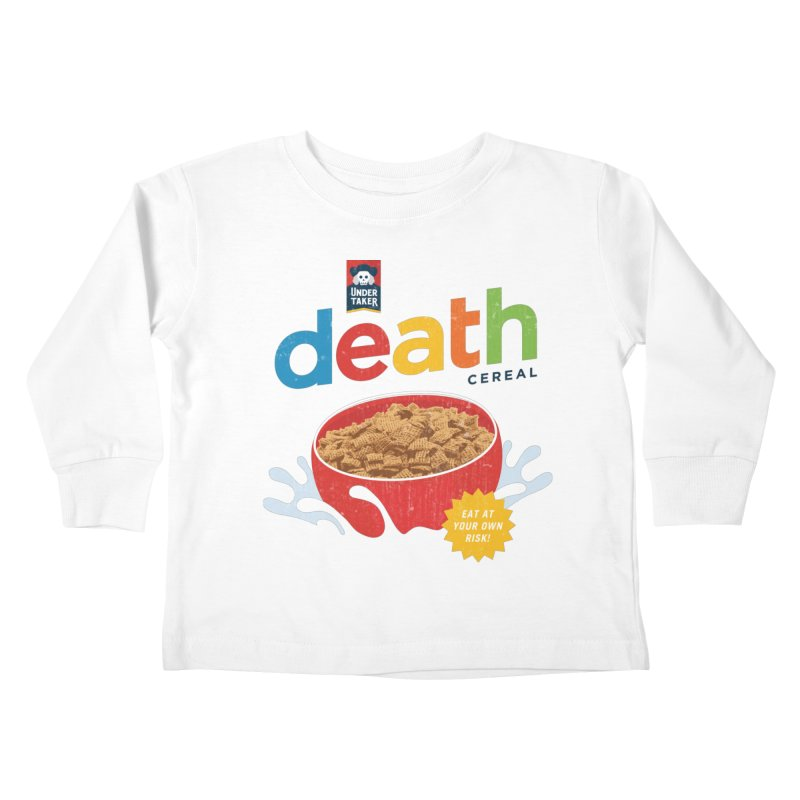 Death Kids Toddler Longsleeve T-Shirt by csw