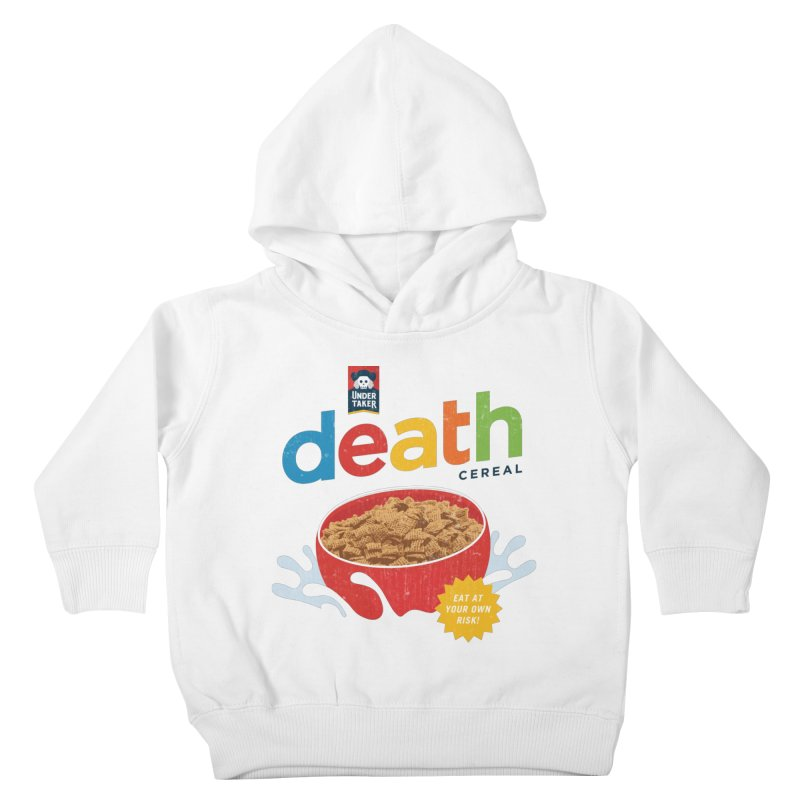 Death Kids Toddler Pullover Hoody by csw