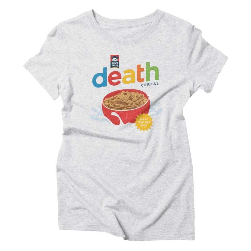 Death Women's Triblend T-shirt by csw