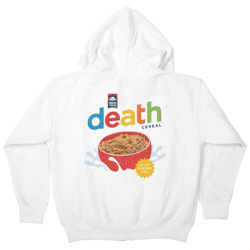 Death Kids Zip-Up Hoody by csw