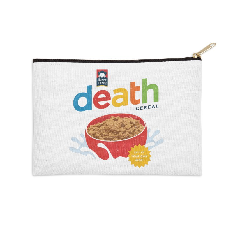 Death Accessories Zip Pouch by csw