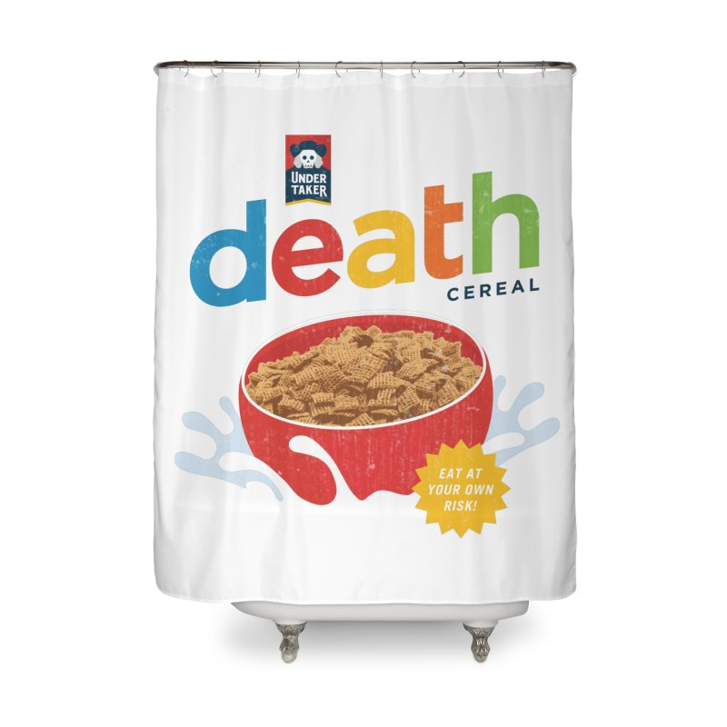 Death Home Shower Curtain by csw