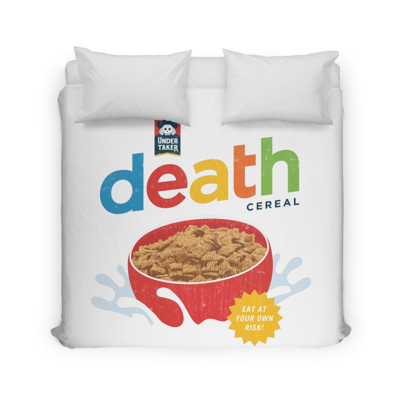 Death Home Duvet by csw