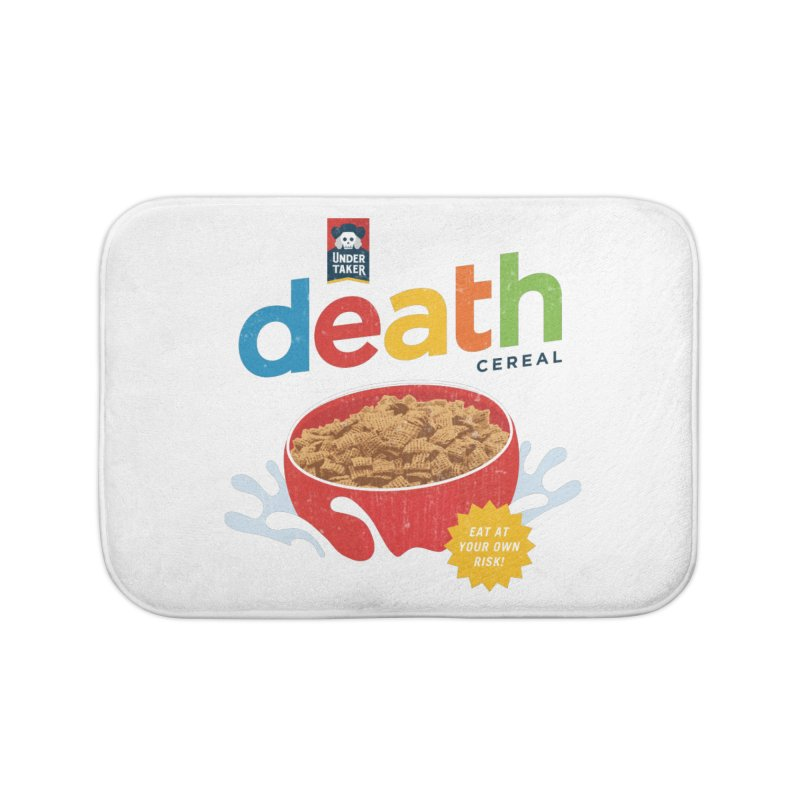 Death Home Bath Mat by csw
