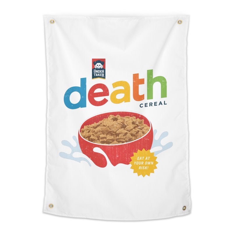 Death Home Tapestry by csw
