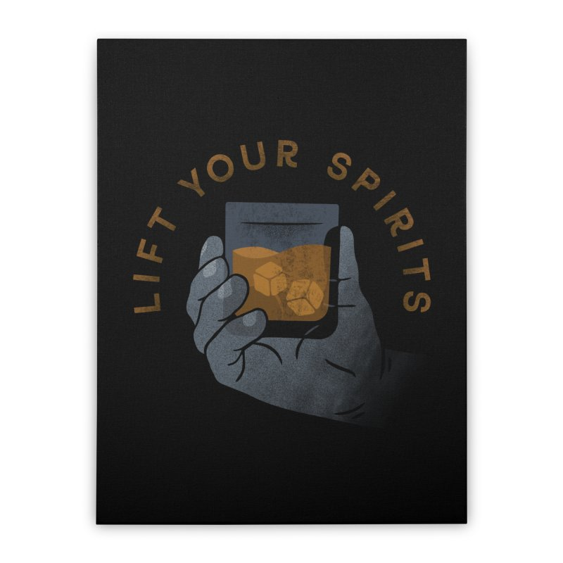 Lift Your Spirits Home Stretched Canvas by csw
