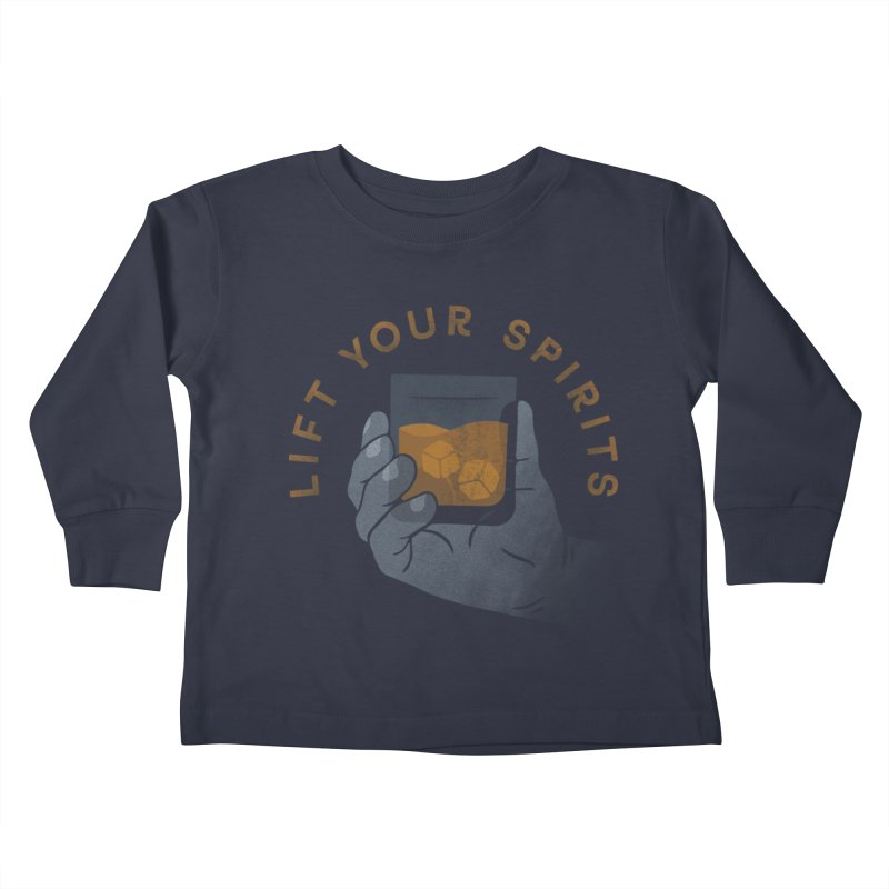 Lift Your Spirits Kids Toddler Longsleeve T-Shirt by csw