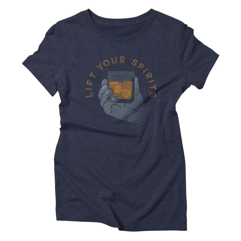 Lift Your Spirits Women's Triblend T-shirt by csw