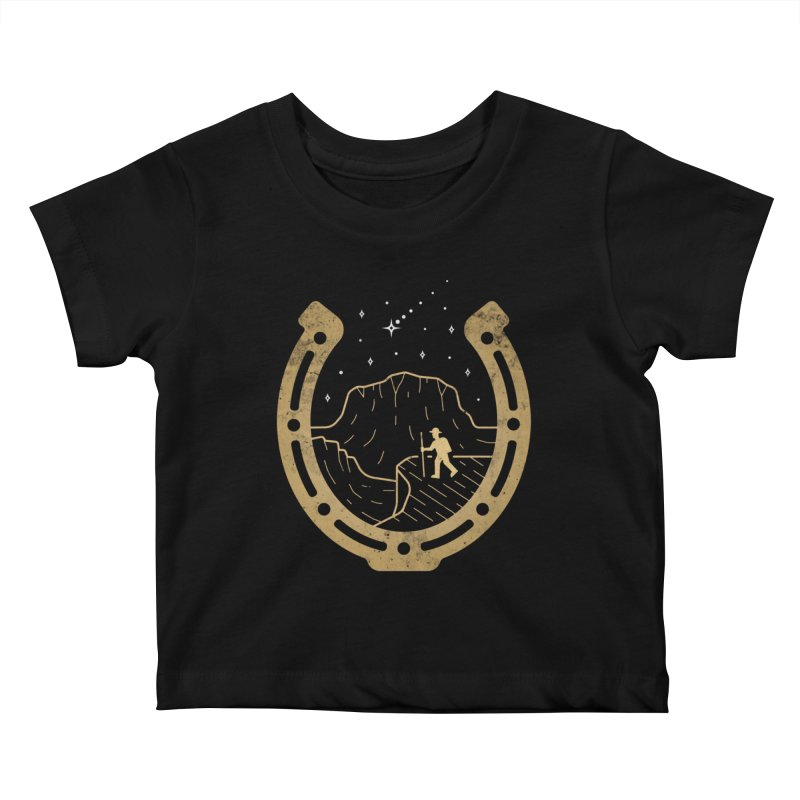 Lucky Stars Kids Baby T-Shirt by csw