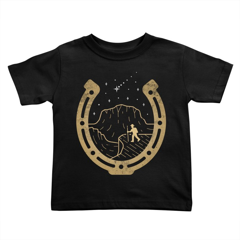 Lucky Stars Kids Toddler T-Shirt by csw