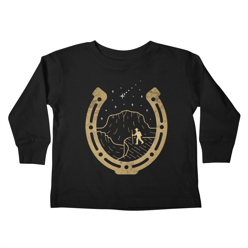 Lucky Stars Kids Toddler Longsleeve T-Shirt by csw