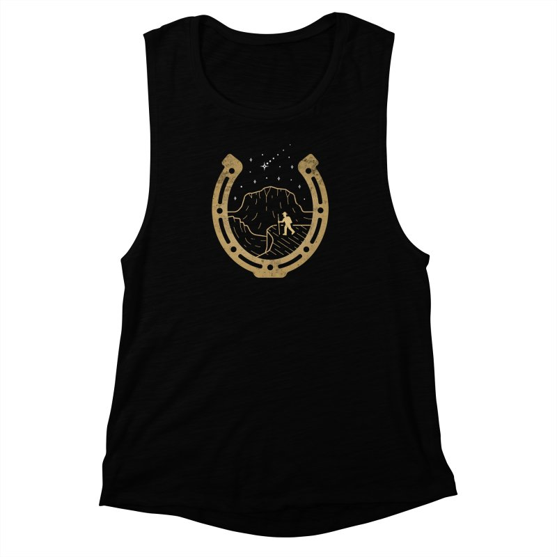 Lucky Stars Women's Muscle Tank by csw