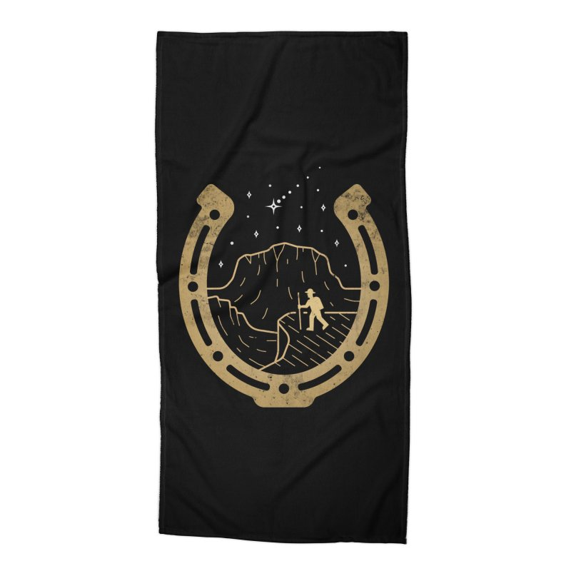 Lucky Stars Accessories Beach Towel by csw