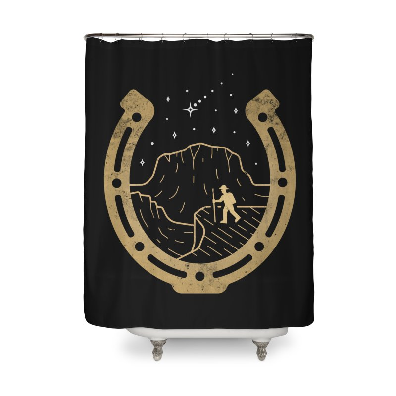 Lucky Stars Home Shower Curtain by csw