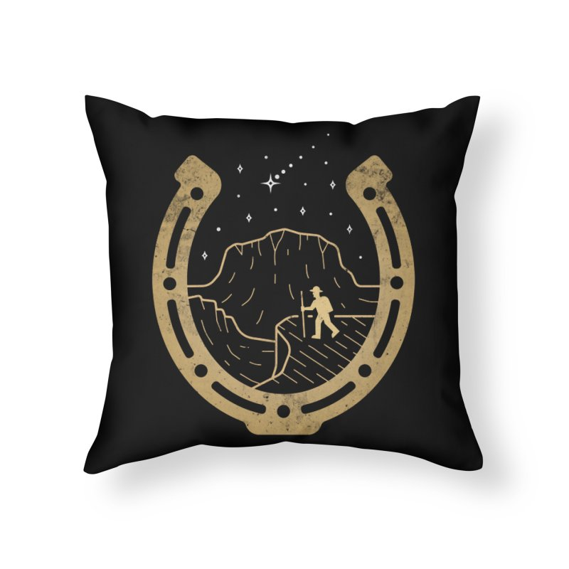 Lucky Stars Home Throw Pillow by csw