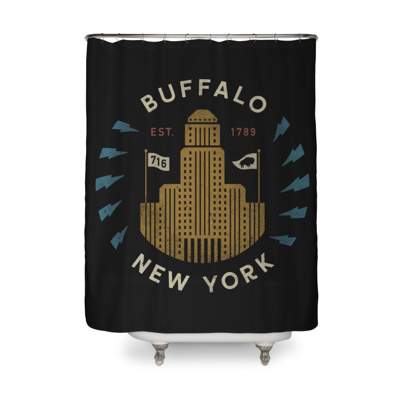 Hometown Pride Home Shower Curtain by csw