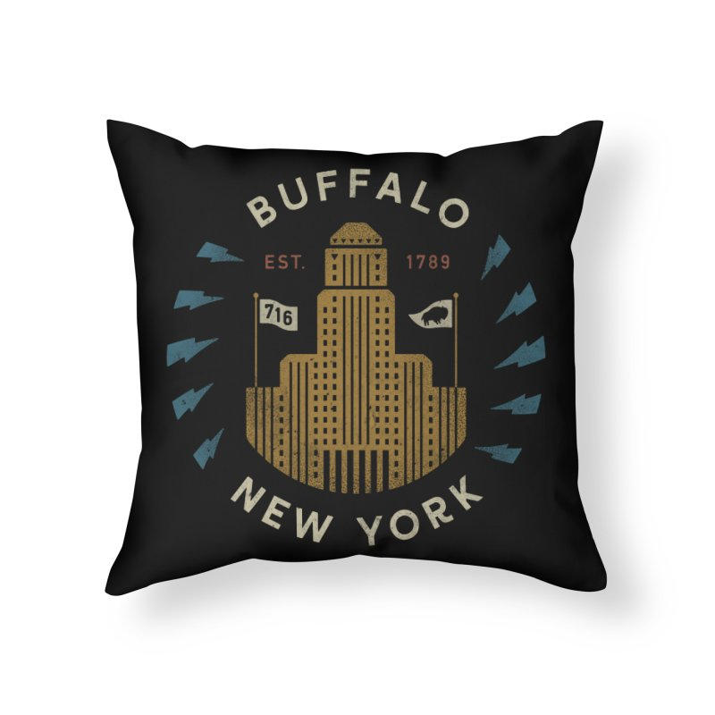 Hometown Pride Home Throw Pillow by csw