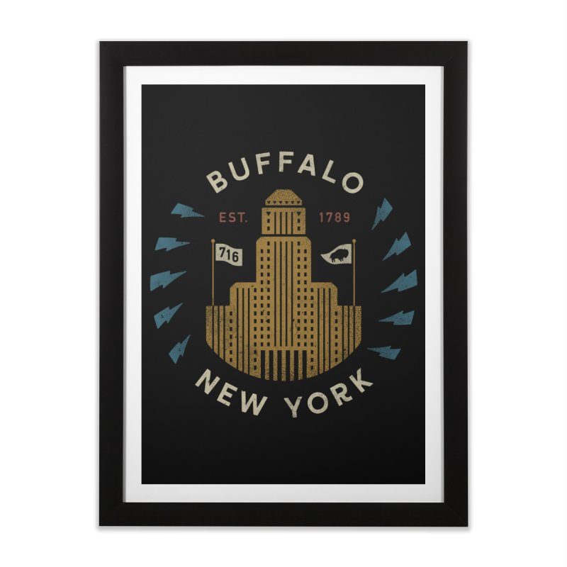 Hometown Pride Home Framed Fine Art Print by csw