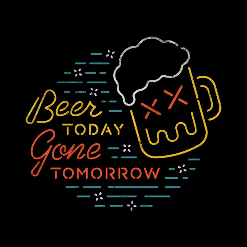 Beer and Gone Men's Longsleeve T-Shirt by Cody Weiler