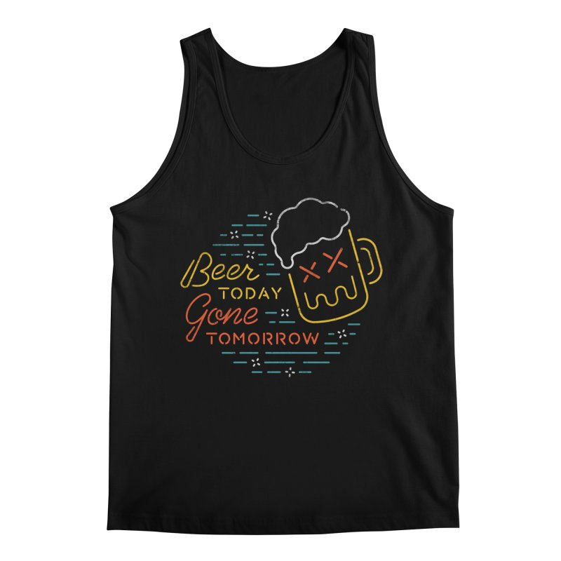 Beer and Gone Men's Tank by Cody Weiler