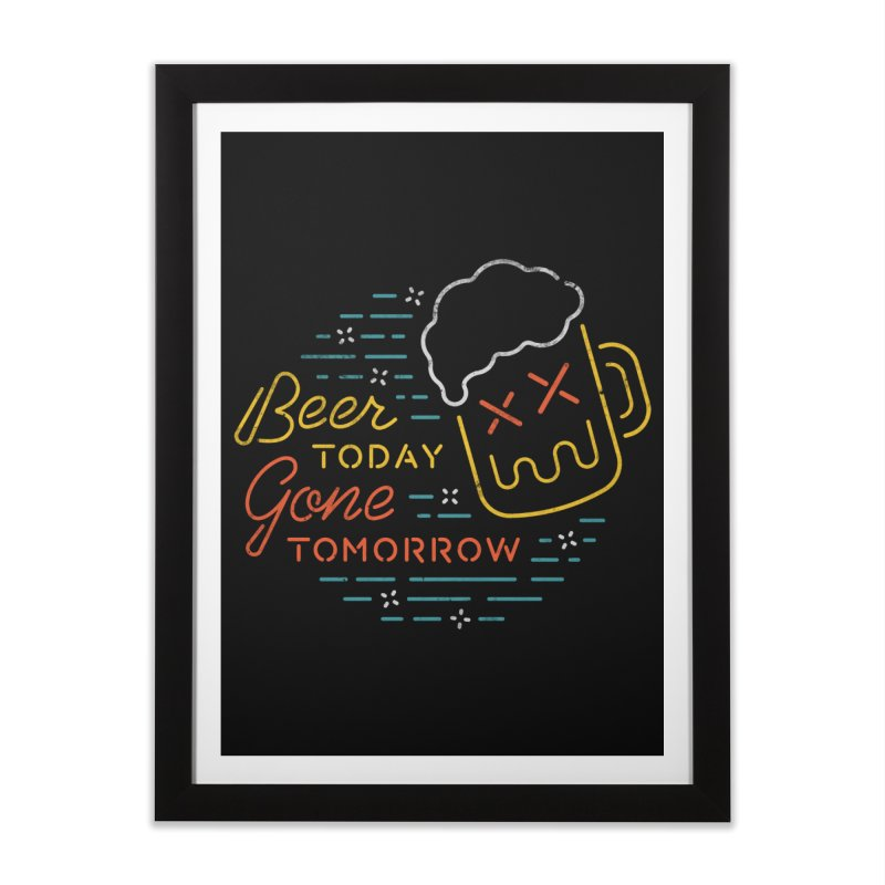 Beer and Gone Home Framed Fine Art Print by Cody Weiler