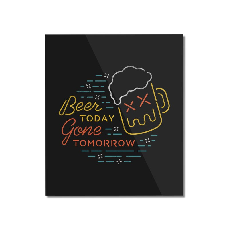 Beer and Gone Home Mounted Acrylic Print by Cody Weiler