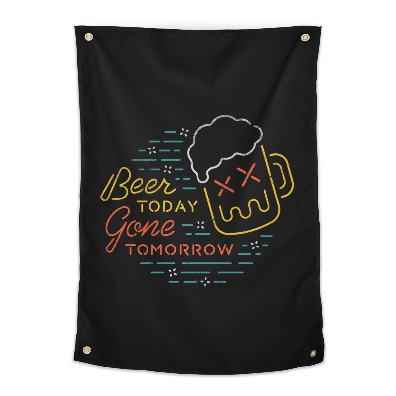 Beer and Gone Home Tapestry by csw