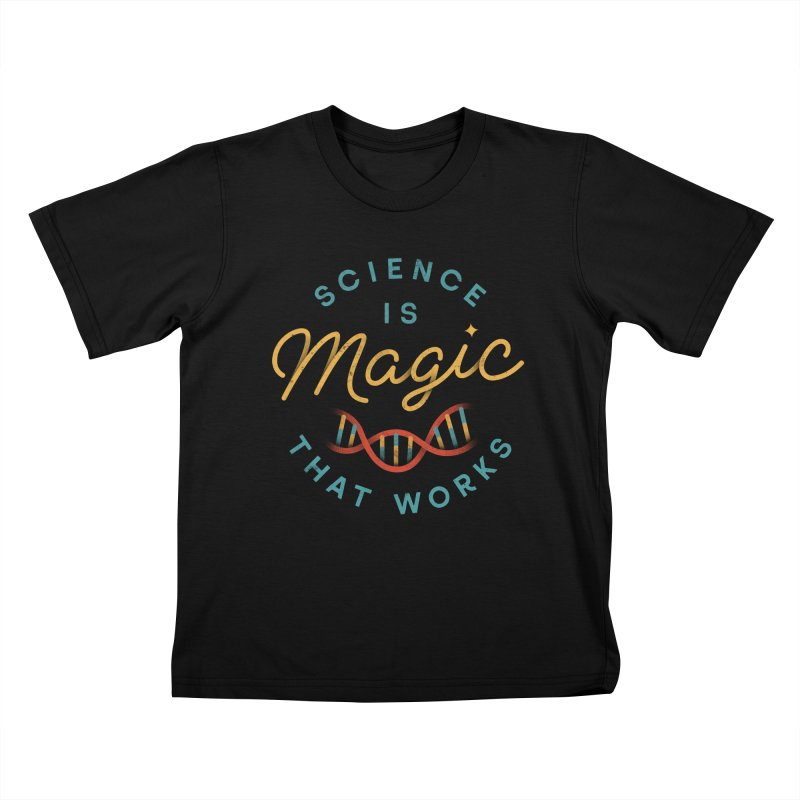Science is Magic Kids T-shirt by csw