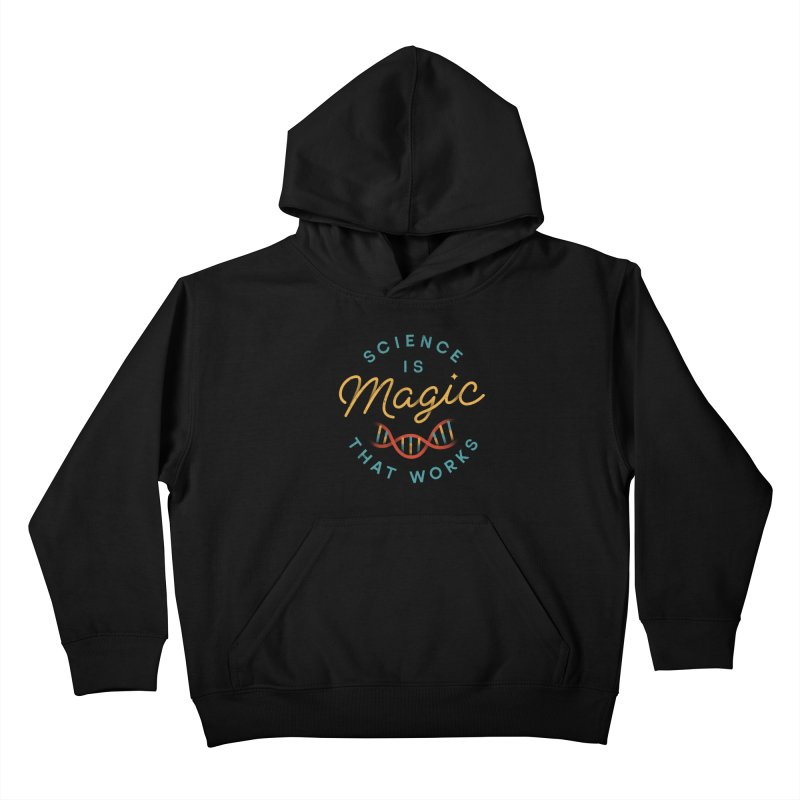 Science is Magic Kids Pullover Hoody by csw